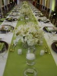 ... BLING,MIRRORS, WHITE TABLE LINEN AND MUCH MORE...STARTING AT USD2000.00
